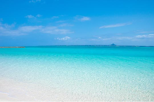 水納島 水納ビーチ