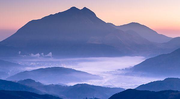 由布岳の雲海
