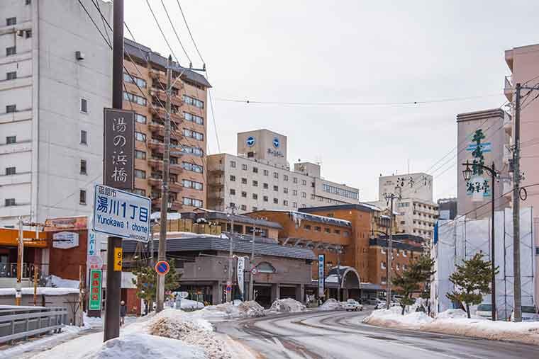函館温泉・湯の川温泉
