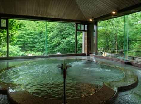 金沢湯涌温泉 湯の出旅館:温泉