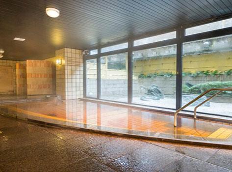 金沢白鳥路 ホテル山楽:温泉