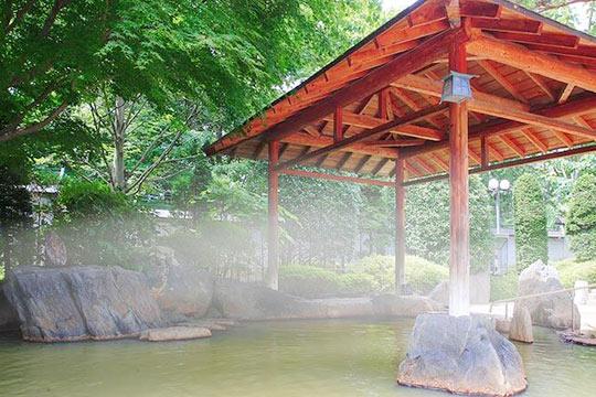 秋保温泉 篝火の湯 緑水亭