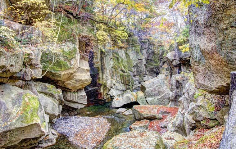 秋保温泉 磊々峡(らいらいきょう)