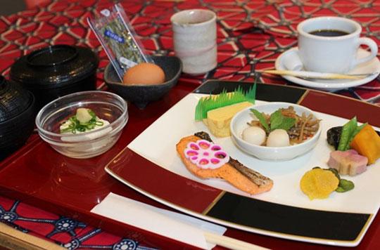 国際障害者交流センター(ビッグ・アイ) 朝食