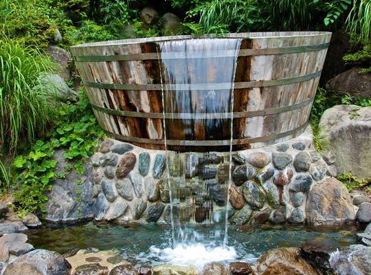 万葉公園の風呂桶
