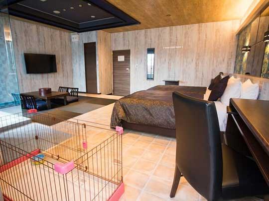 リブマックスリゾート京丹後シーフロント ペット可・客室露天風呂付き和洋室