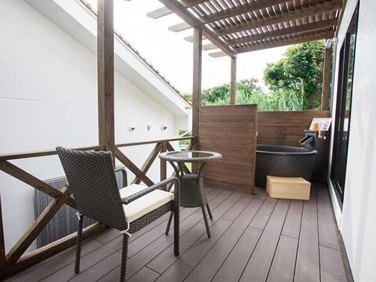 リブマックスリゾート京丹後シーフロント 客室露天風呂