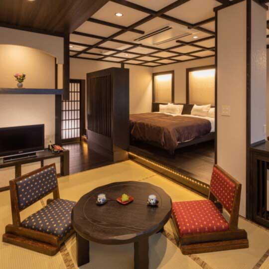 黒川温泉 やまびこ旅館 客室例