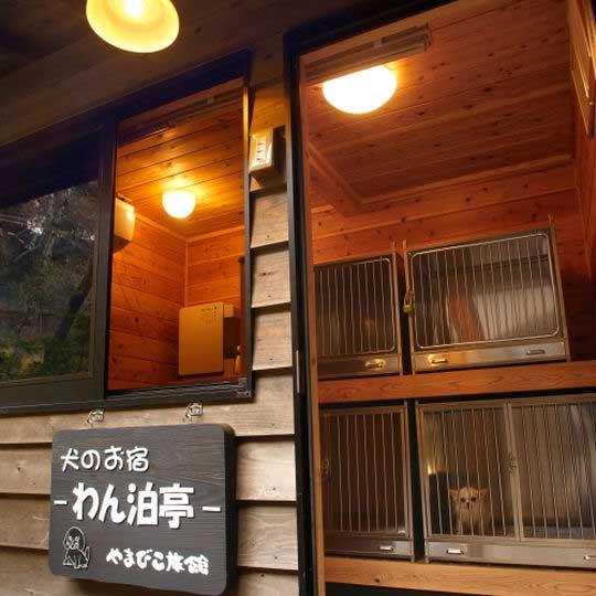 黒川温泉 やまびこ旅館 ペット専用宿泊施設「わん泊亭」