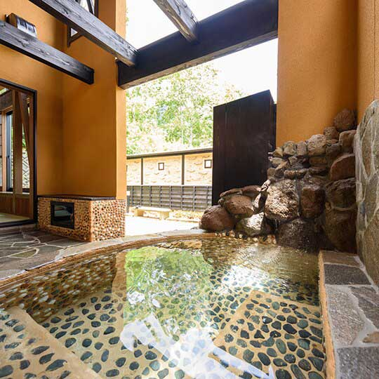由布院温泉 楓の小舎 「椋の間」露天風呂