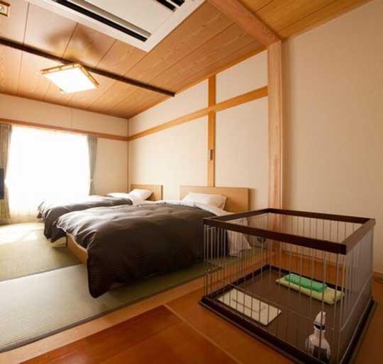 湯布院ガーデンホテル ドッグラン&リゾート 1F和室ツインルーム