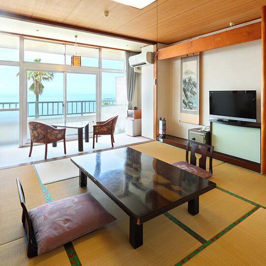 天草下田温泉 望洋閣 オーシャンビューの本館和室