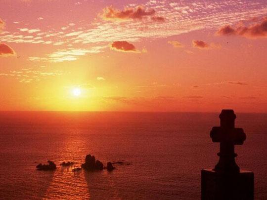 天草下田温泉 望洋閣 夕陽