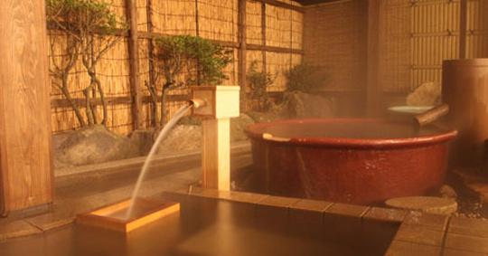 源泉の一軒宿 ふくみつ華山温泉