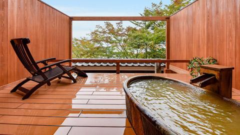 クチコミ高評価!伊香保温泉の露天風呂付き客室のある人気宿ランキング