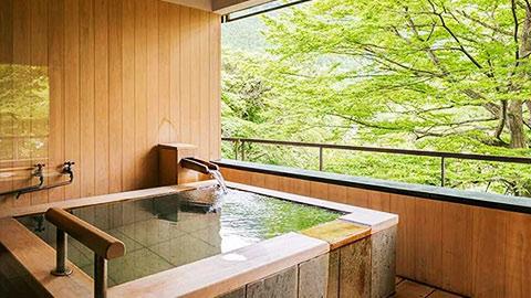 クチコミ高評価!関東の露天風呂付き客室のある人気温泉宿ランキング