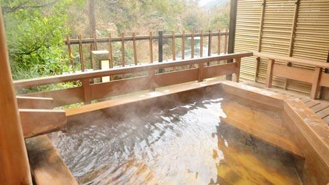 露天風呂付き客室のある人気温泉宿ランキング