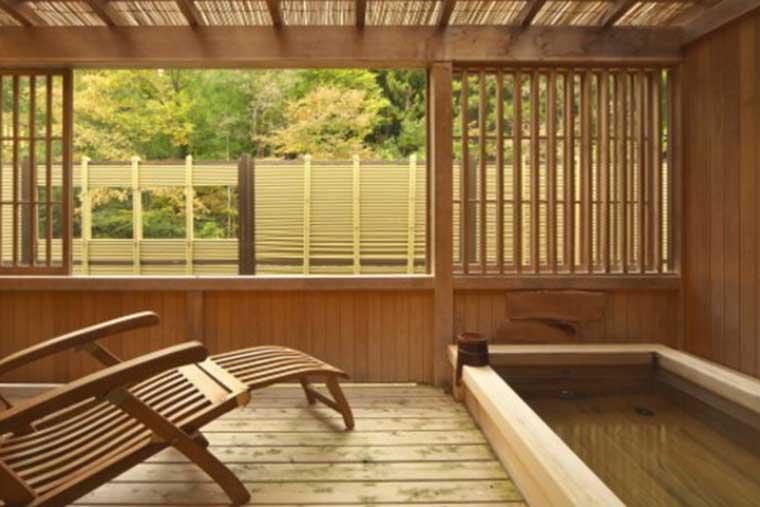 全室露天風呂付き客室の宿 真木温泉