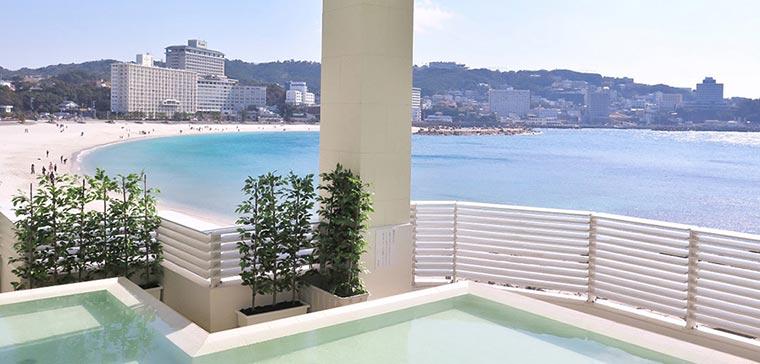 白良荘グランドホテル 露天風呂「潮風」