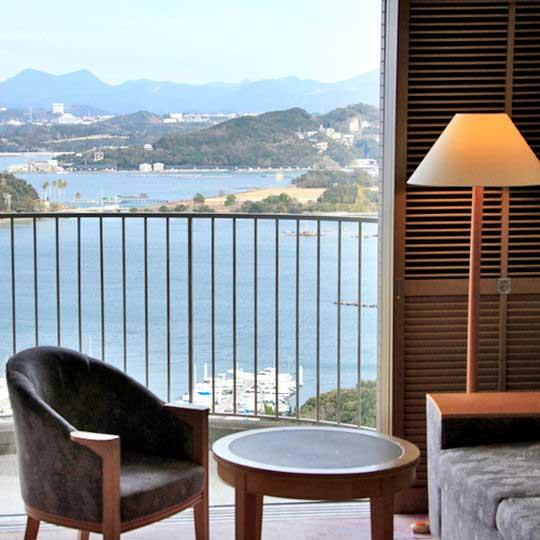 白浜古賀の井リゾート&スパ お部屋からの眺望