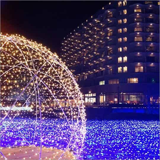白浜古賀の井リゾート&スパ 光の楽園「イルミナスオーシャン」