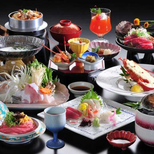 白浜温泉ホテル三楽荘 料理