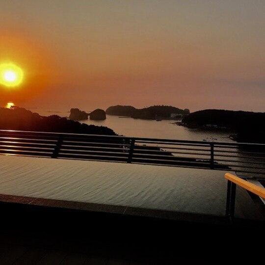 紀州・白浜温泉むさし 和邸専用展望風呂「天空」