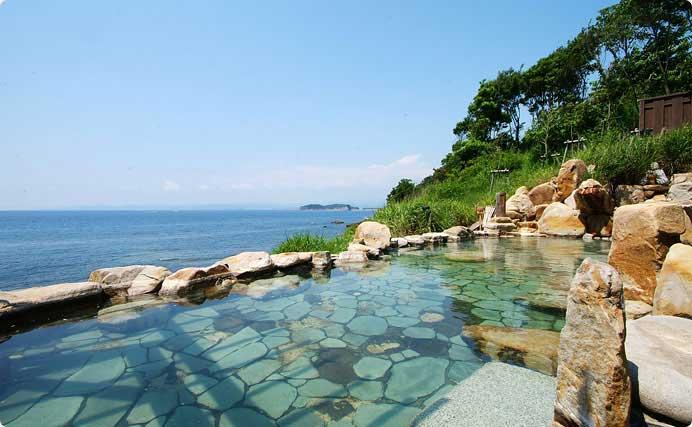 白浜温泉 浜千鳥の湯 海舟  文殊温泉「浜千鳥の湯」