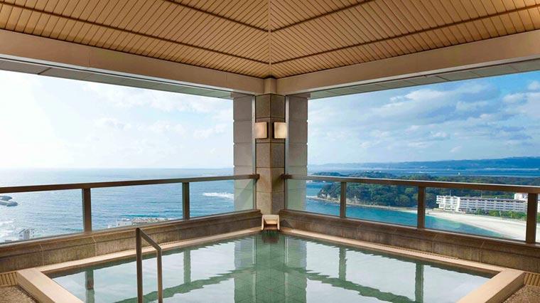 白浜温泉 白良荘グランドホテル 温泉露天風呂