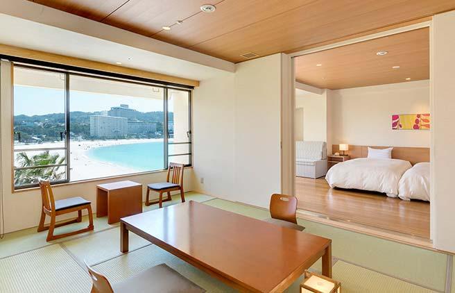 白浜温泉 白良荘グランドホテル 客室例