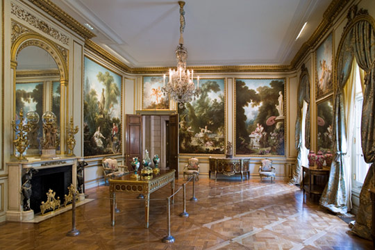 The Fragonard Room The Frick Collection, New York Photo: Michael Bodycomb