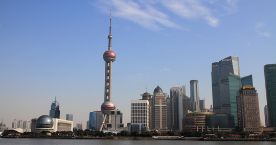 東方明珠電視塔 (Oriental Pearl Radio&TV Tower)