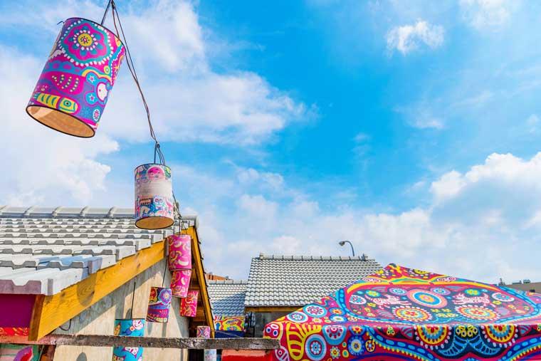 彩虹眷村(さいこうけんそん、Rainbow Village)