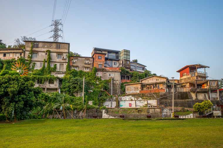 寶蔵巌(宝蔵巌)国際芸術村(Treasure Hill Artist Village)