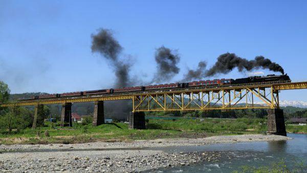 SL Banetsu Monogatari (East Japan Railway Company, Shintetsu Main Line/Banetsu Line)