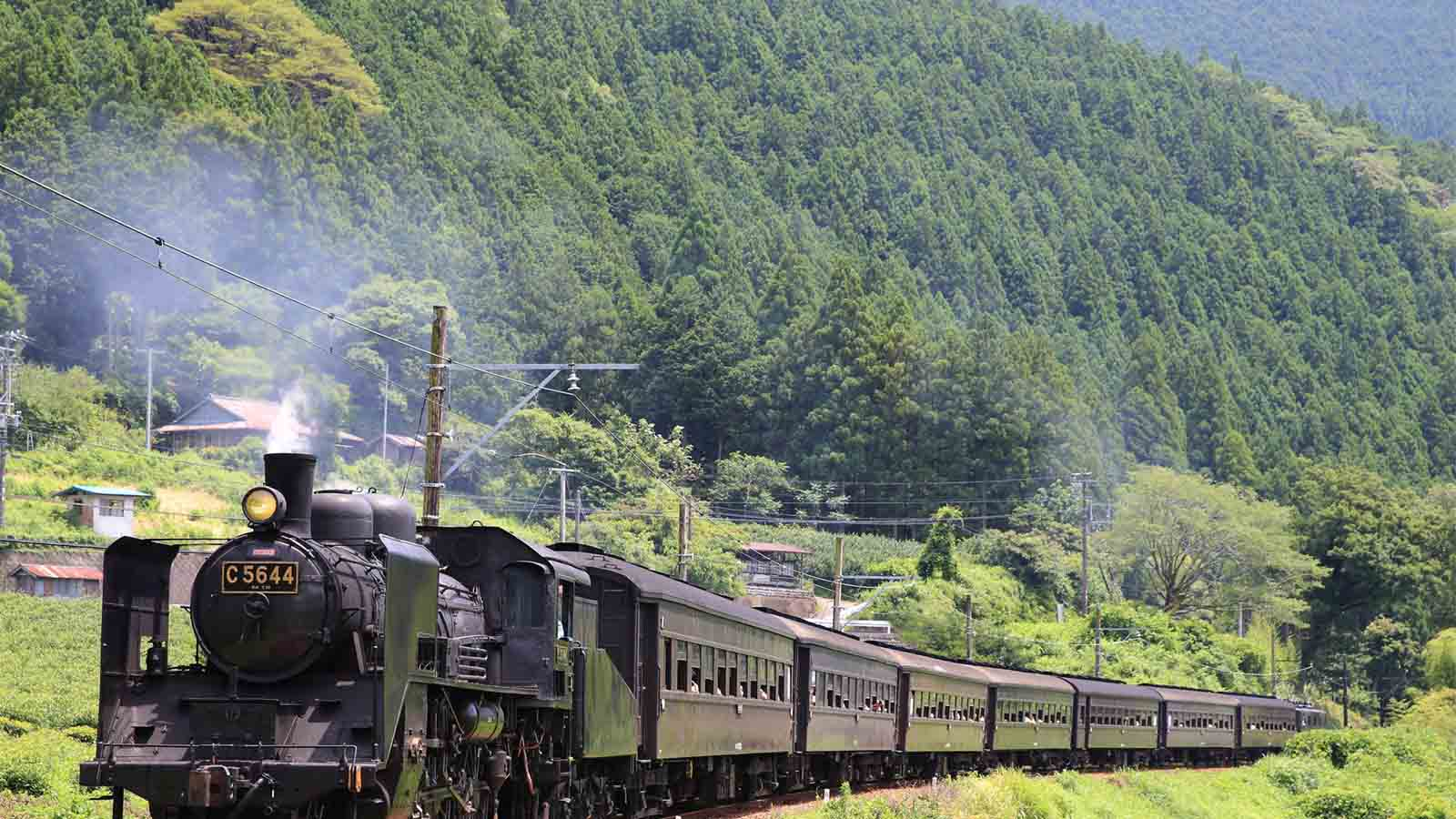 Take a nostalgic journey on Japan's Top 10 steam locomotives