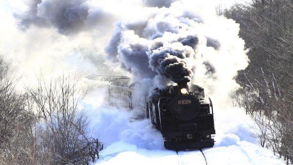 SL冬季湿源号(JR北海道・钏网本线)