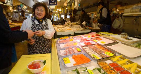 古川市場 のっけ丼
