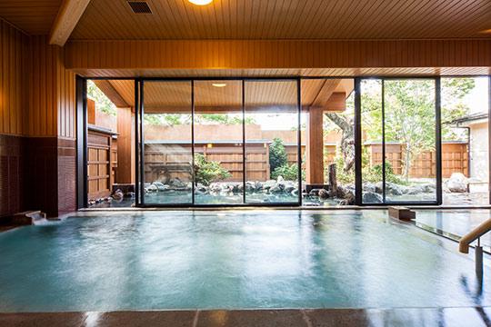 京都 嵐山温泉 湯浴み処 風風の湯