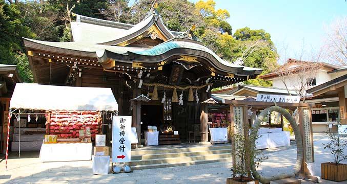 江島神社 辺津宮(へつみや)
