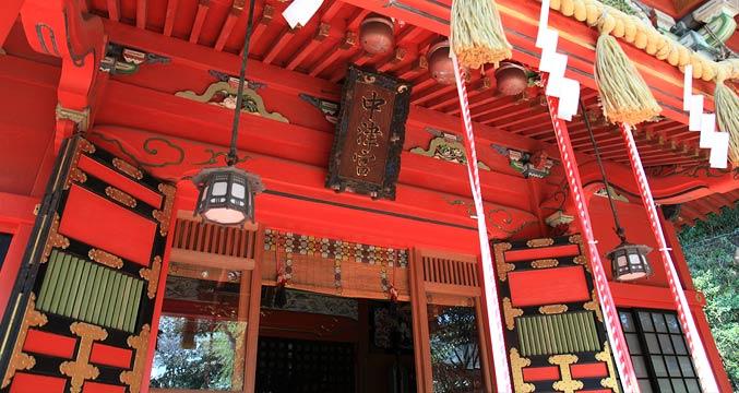 江島神社 中津宮(なかつみや)