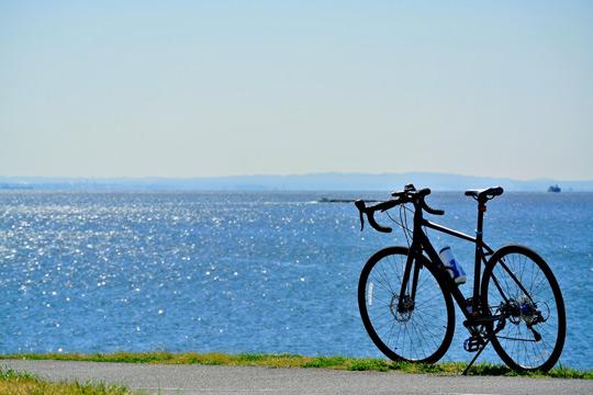 海岸サイクリング