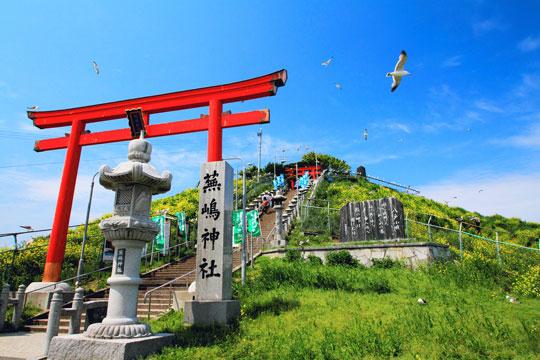 蕪島(蕪島神社)