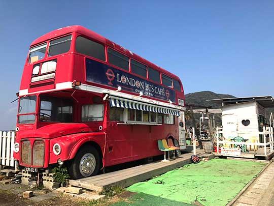 糸島ロンドンバスカフェ