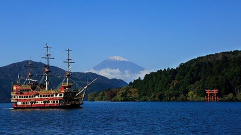 東京から約1時間半で行ける、箱根の観光スポット30選