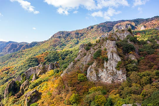 国立公園 寒霞渓(こくりつこうえん かんかけい)