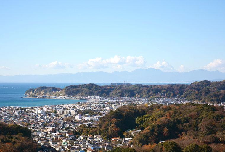 衣張山からの景色