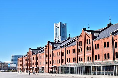 赤レンガパーク・横浜赤レンガ倉庫