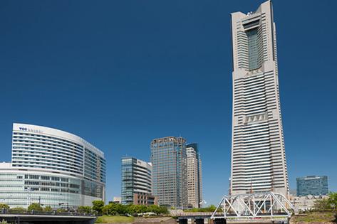 横浜ランドマークタワー(展望台「スカイガーデン」)