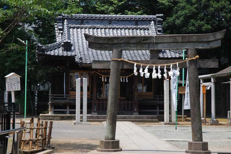 川越 熊野神社